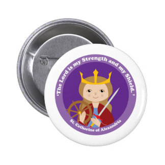 St. Catherine of Alexandria Buttons