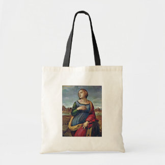 St. Catherine Of Alexandria By Raffael Budget Tote Bag