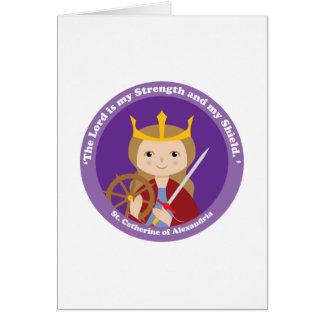 St. Catherine of Alexandria Greeting Card