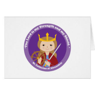 St. Catherine of Alexandria Greeting Cards
