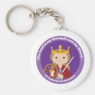 St. Catherine of Alexandria Keychains