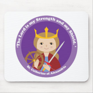 St. Catherine of Alexandria Mouse Pad