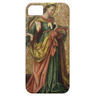 St. Catherine of Alexandria (oil on panel) 2 iPhone SE/5/5s Case