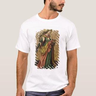 St. Catherine of Alexandria (oil on panel) 2 T-Shirt