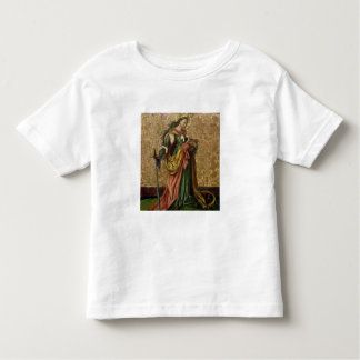 St. Catherine of Alexandria (oil on panel) 2 Toddler T-shirt