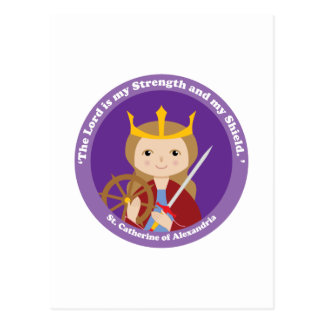 St. Catherine of Alexandria Post Cards