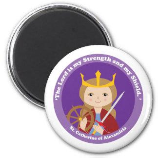 St. Catherine of Alexandria Refrigerator Magnet
