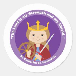St. Catherine of Alexandria Stickers