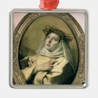 St. Catherine of Siena , c.1746 Metal Ornament