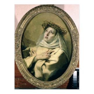 St. Catherine of Siena , c.1746 Postcard