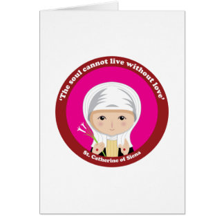 St. Catherine of Siena Greeting Card