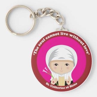 St. Catherine of Siena Keychain