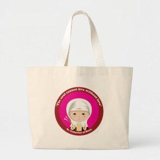St. Catherine of Siena Large Tote Bag