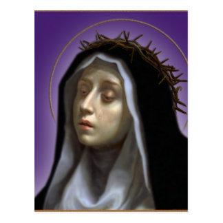 St. Catherine of Siena Postcard