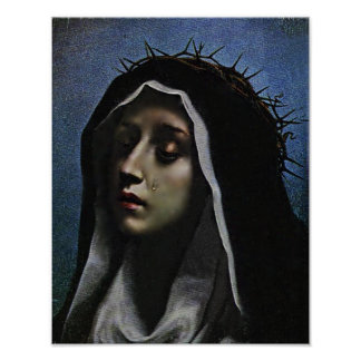 ST CATHERINE OF SIENA POSTER