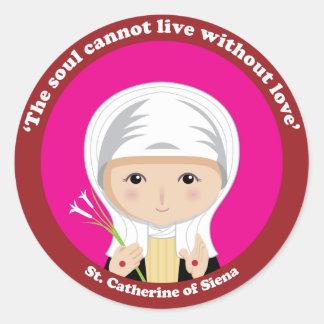 St. Catherine of Siena Stickers