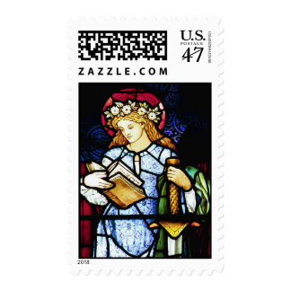 St Catherine, Patron Saint of Teachers Postage