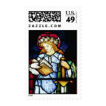 St Catherine, Patron Saint of Teachers Stamps