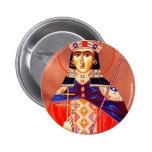 st. catherine pinback button
