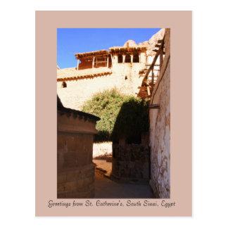 St Catherine s Monastery South Sinai Egypt Post Card