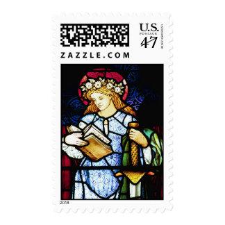 St Catherine, santo patrón de profesores Sellos Postales