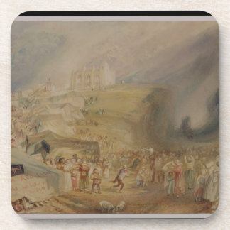 St. Catherine's Hill, Guildford, Surrey, 1830 (w/c Coaster