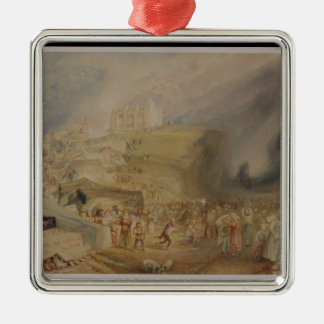 St. Catherine's Hill, Guildford, Surrey, 1830 (w/c Metal Ornament