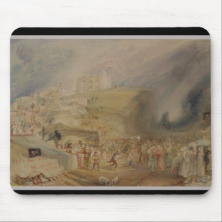St. Catherine's Hill, Guildford, Surrey, 1830 (w/c Mouse Pad