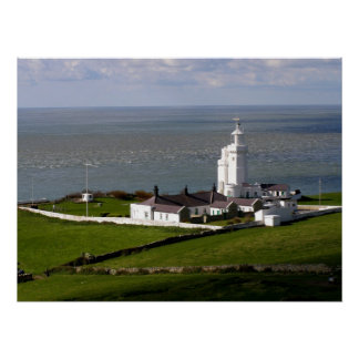 St Catherine's Lighthouse Poster