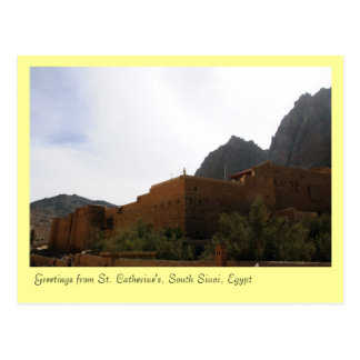 St. Catherine's Monastery, South Sinai, Egypt Postcards