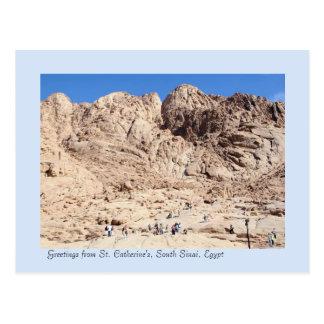 St. Catherine's Mountains, South Sinai, Egypt Postcard