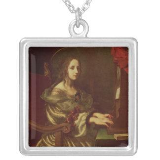 St Cecilia 2 Colgante Cuadrado
