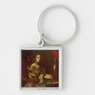 St. Cecilia 2 Keychain
