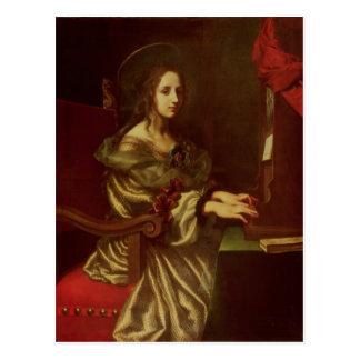 St. Cecilia 2 Postcard