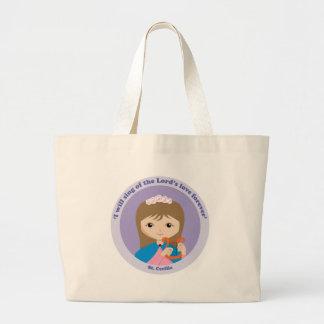 St. Cecilia Jumbo Tote Bag