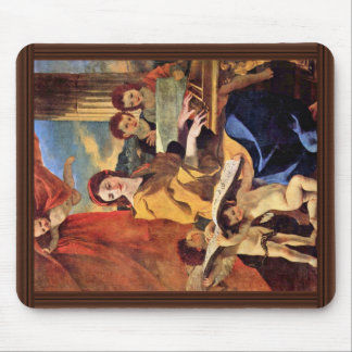 St. Cecilia By Poussin Nicolas (Best Quality) Mouse Pad