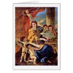 St Cecilia de Nicolás Poussin Felicitación