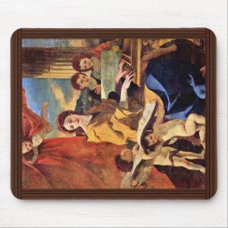 St Cecilia de Poussin Nicolás (la mejor calidad) Mousepad