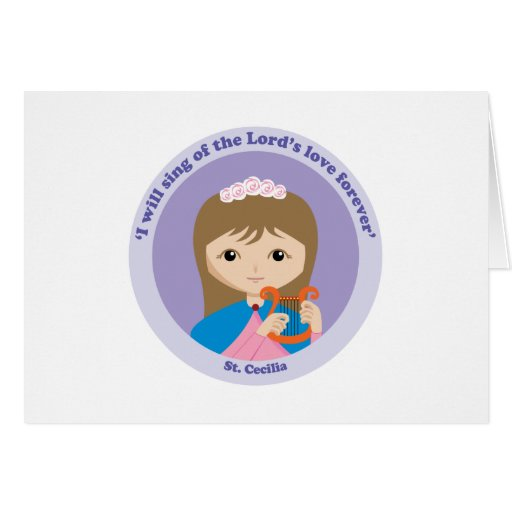 St Cecilia Felicitaciones