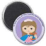 St. Cecilia Fridge Magnet