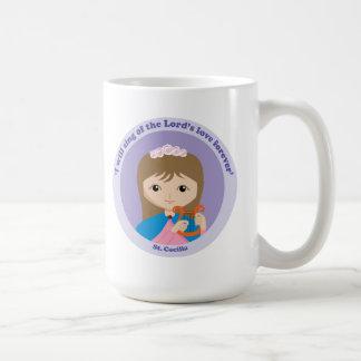 St. Cecilia Classic White Coffee Mug