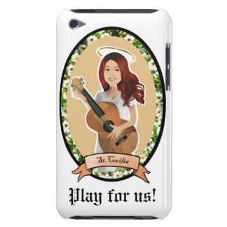 St Cecilia Play for us patron of music itouch case iPod Case-Mate Case
