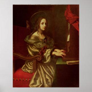 St Cecilia Póster