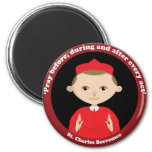 St. Charles Borromeo Magnets