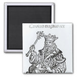 St. Charles  from 'Liber Chronicarum' 2 Inch Square Magnet
