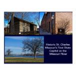 St Charles histórico Missouri Tarjetas Postales