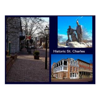 St Charles histórico Tarjetas Postales