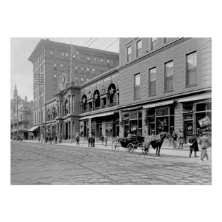 St Charles Hotel, New Orleans, 1900 Póster