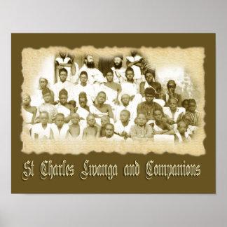 ST CHARLES LWANGA AND COMPANIONS POSTER