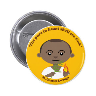 St. Charles Lwanga Pinback Button